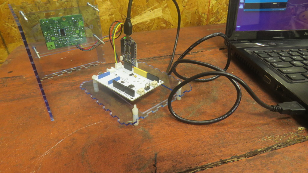 DustDuino Serial_Hello World